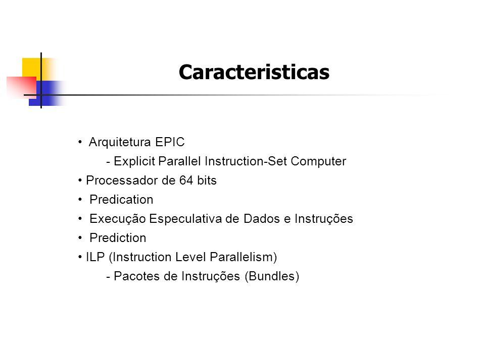 Caracteristicas Arquitetura EPIC