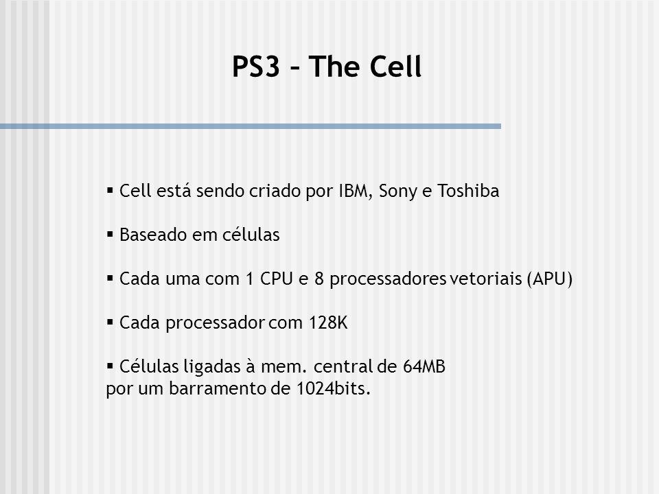 PS3 – The Cell Cell está sendo criado por IBM, Sony e Toshiba