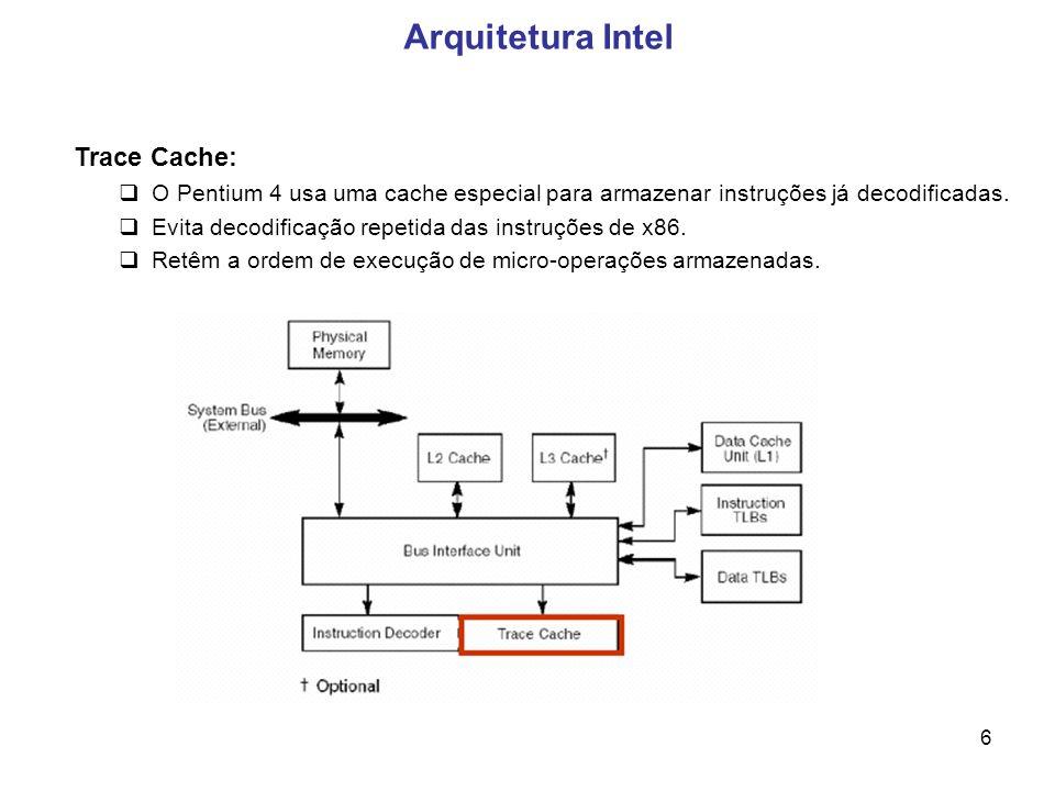Arquitetura Intel Trace Cache: