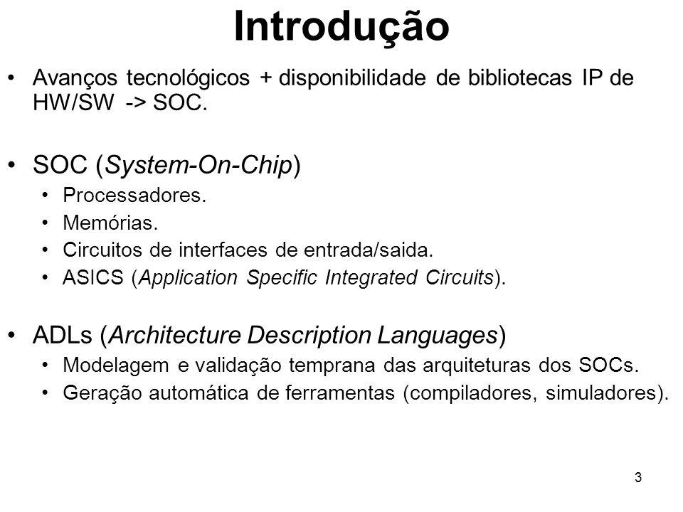 Introdução SOC (System-On-Chip)