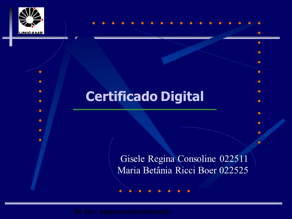 Certificado Digital Gisele Regina Consoline 022511