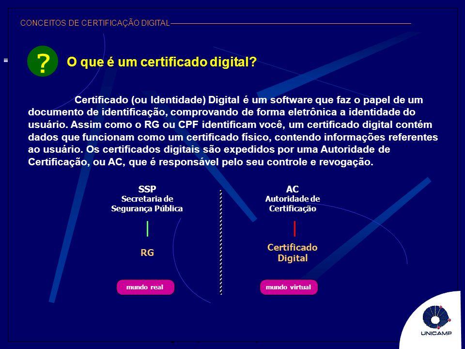 O que é um certificado digital