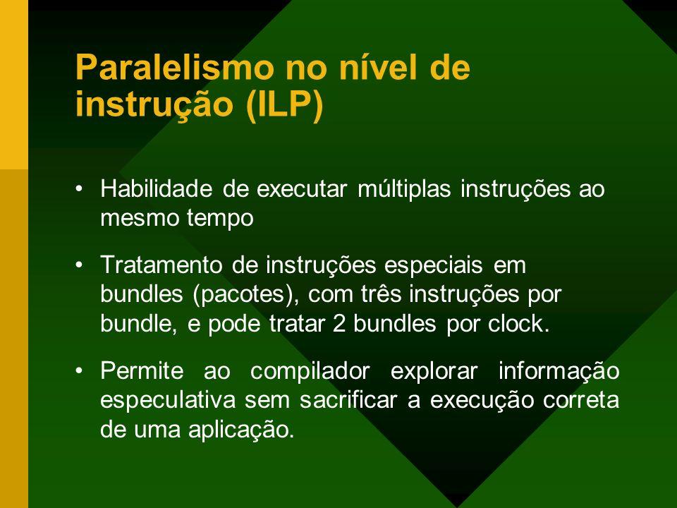 Paralelismo no nível de instrução (ILP)
