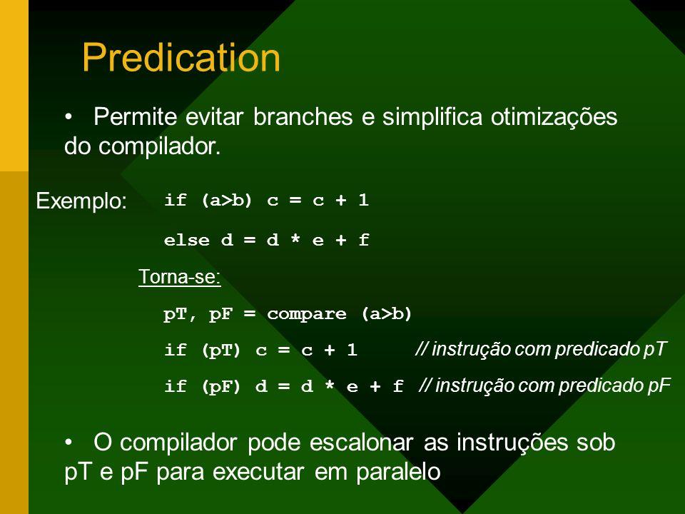 Predication if (a>b) c = c + 1