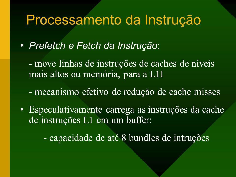 Processamento da Instrução
