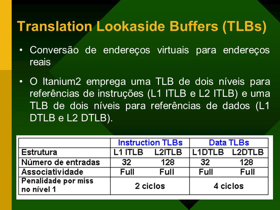 Translation Lookaside Buffers (TLBs)