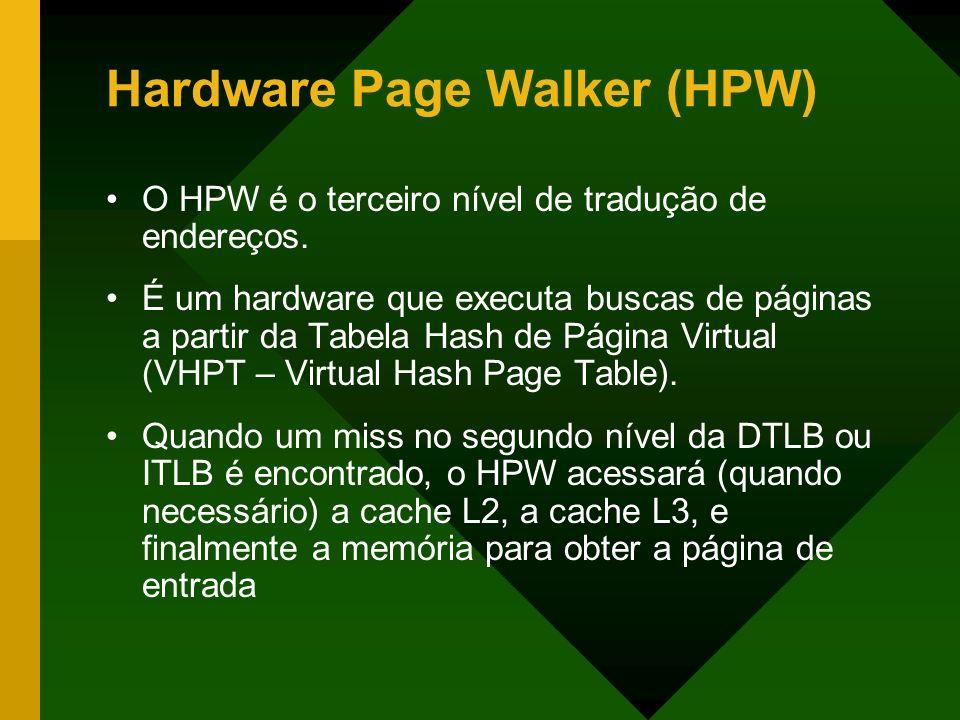 Hardware Page Walker (HPW)
