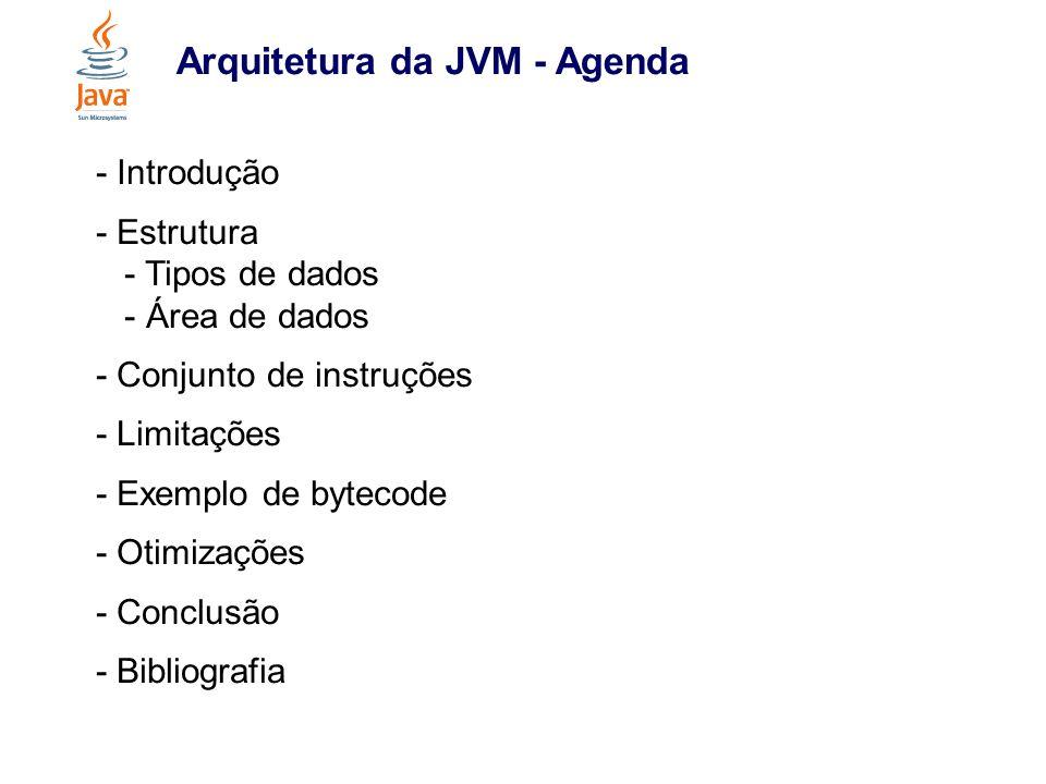 Arquitetura da JVM - Agenda