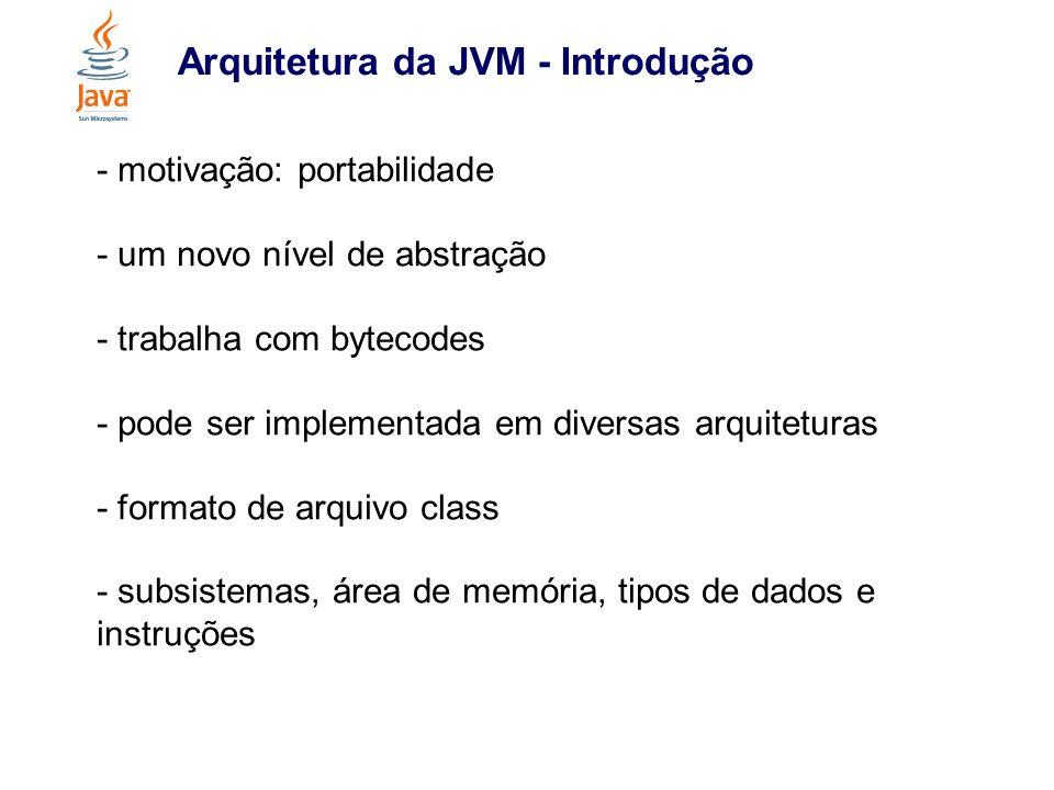 Arquitetura da JVM - Introdução