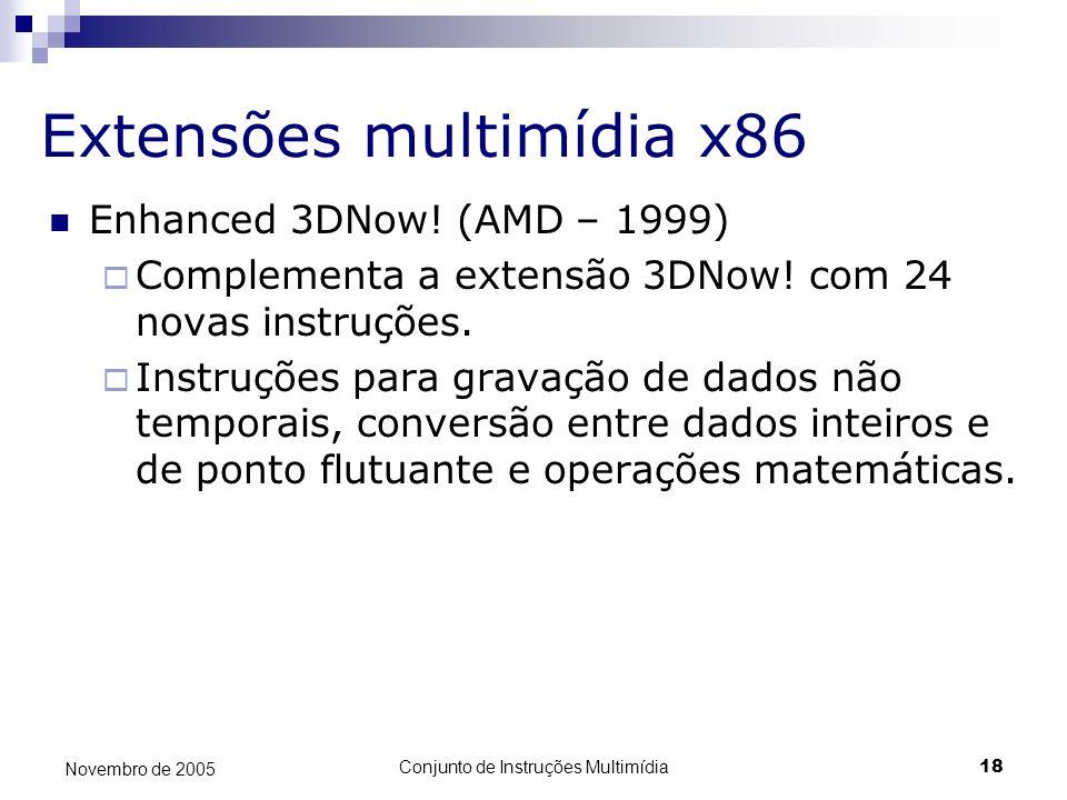 Extensões multimídia x86