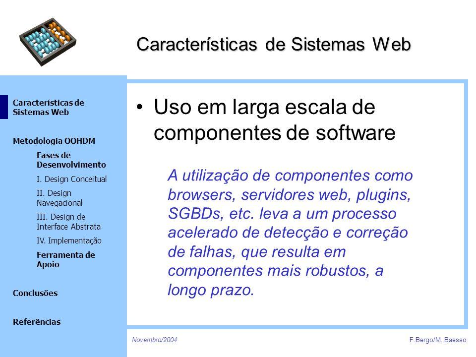 Características de Sistemas Web