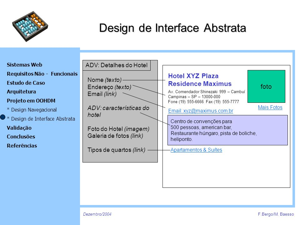 Design de Interface Abstrata