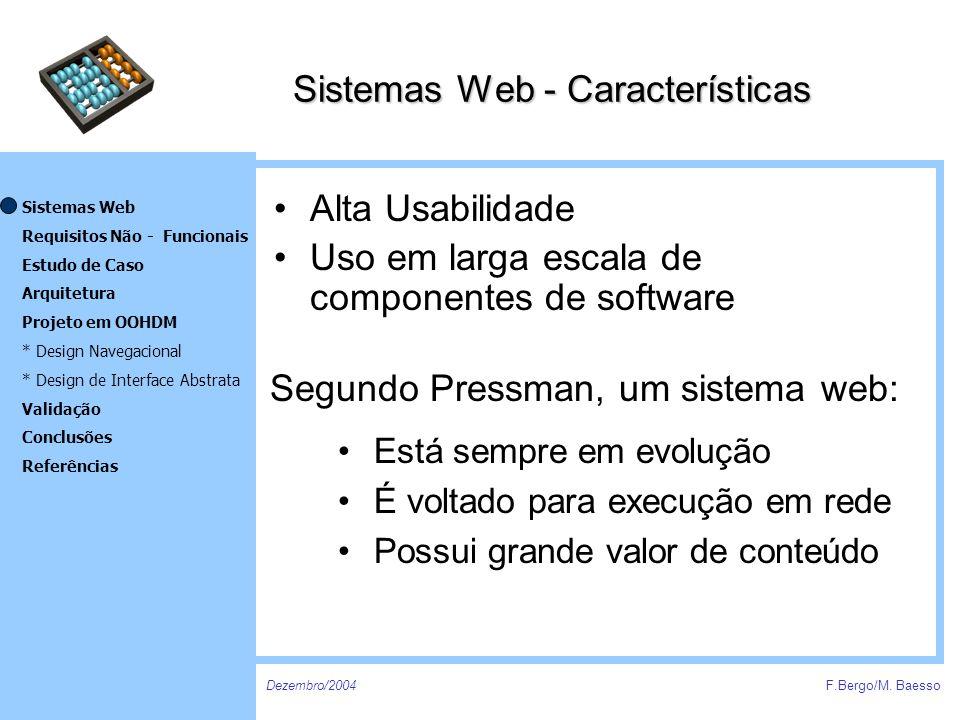 Sistemas Web - Características