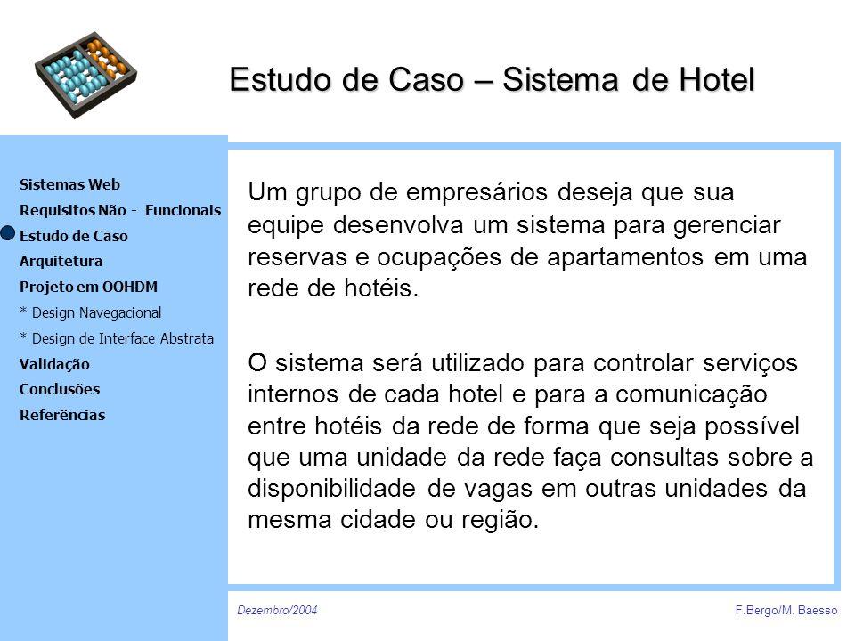 Estudo de Caso – Sistema de Hotel
