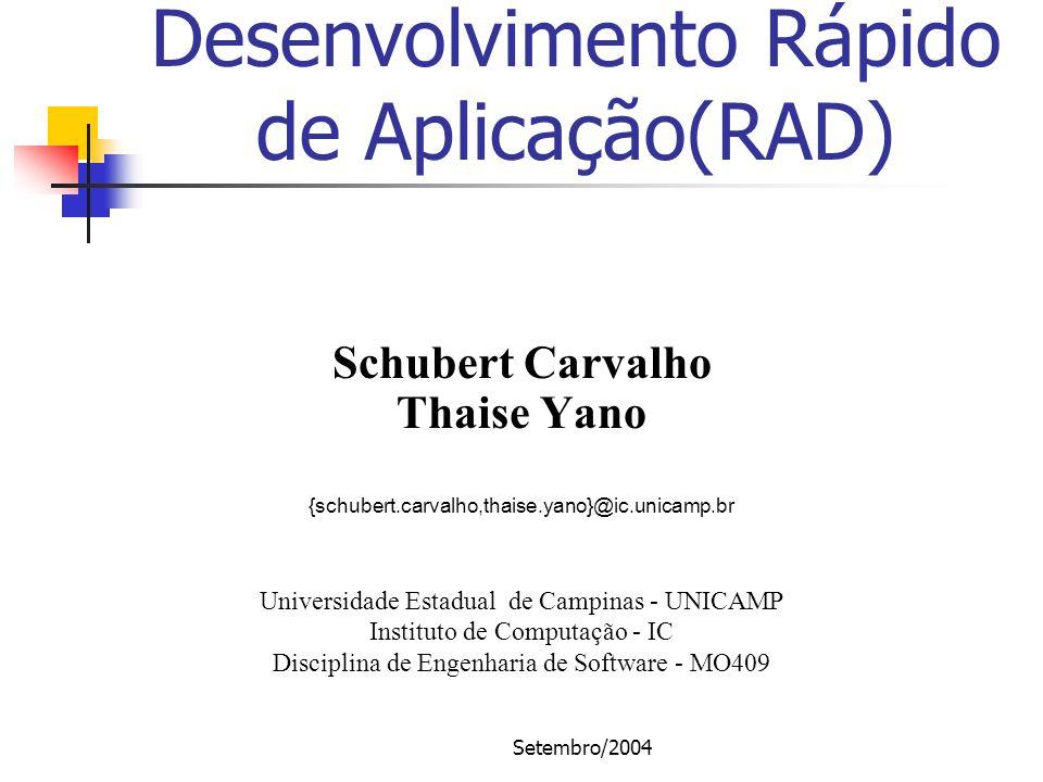 Desenvolvimento Rápido de Aplicação(RAD)
