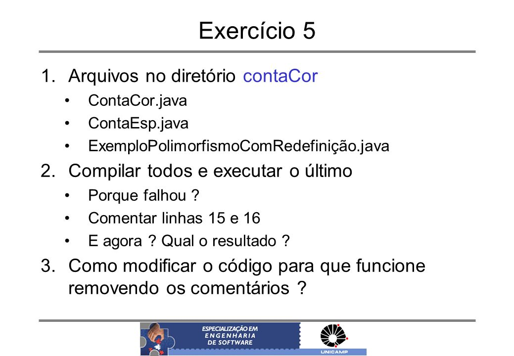Exercício 5 Arquivos no diretório contaCor