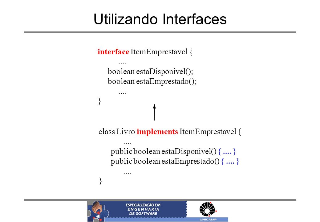 Utilizando Interfaces