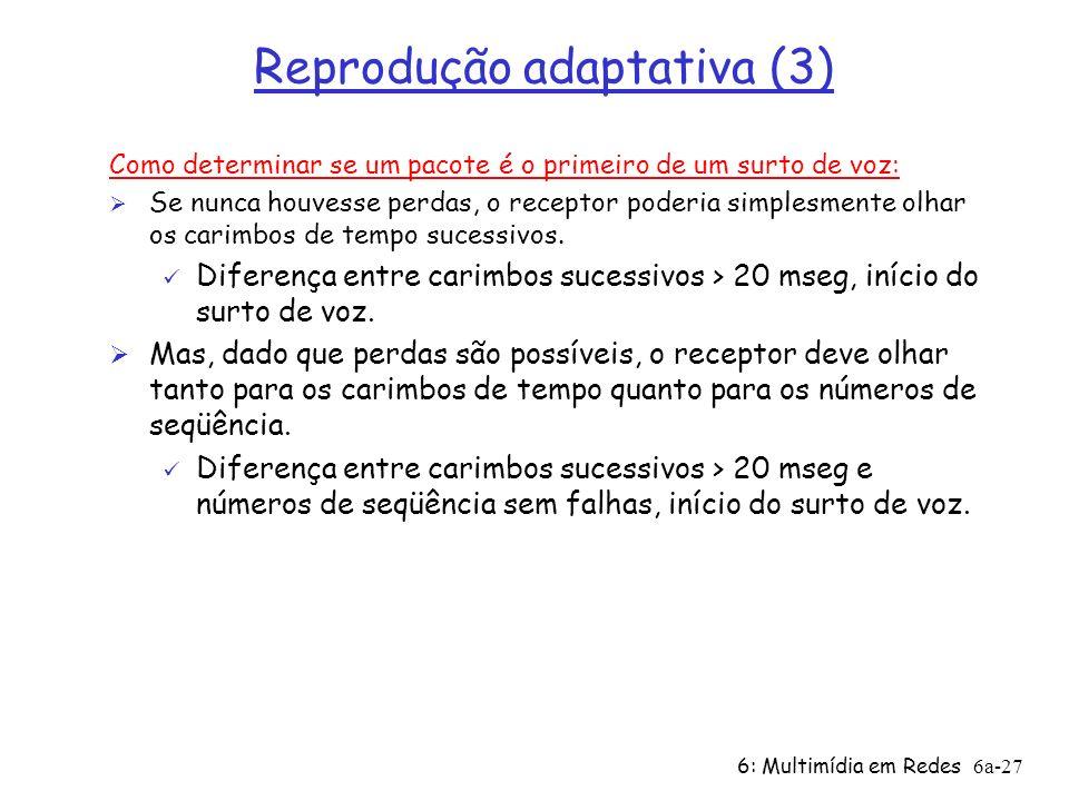 Reprodução adaptativa (3)