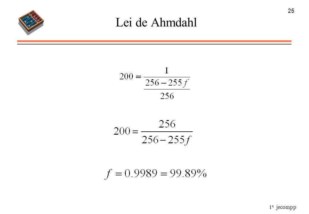 25 Lei de Ahmdahl