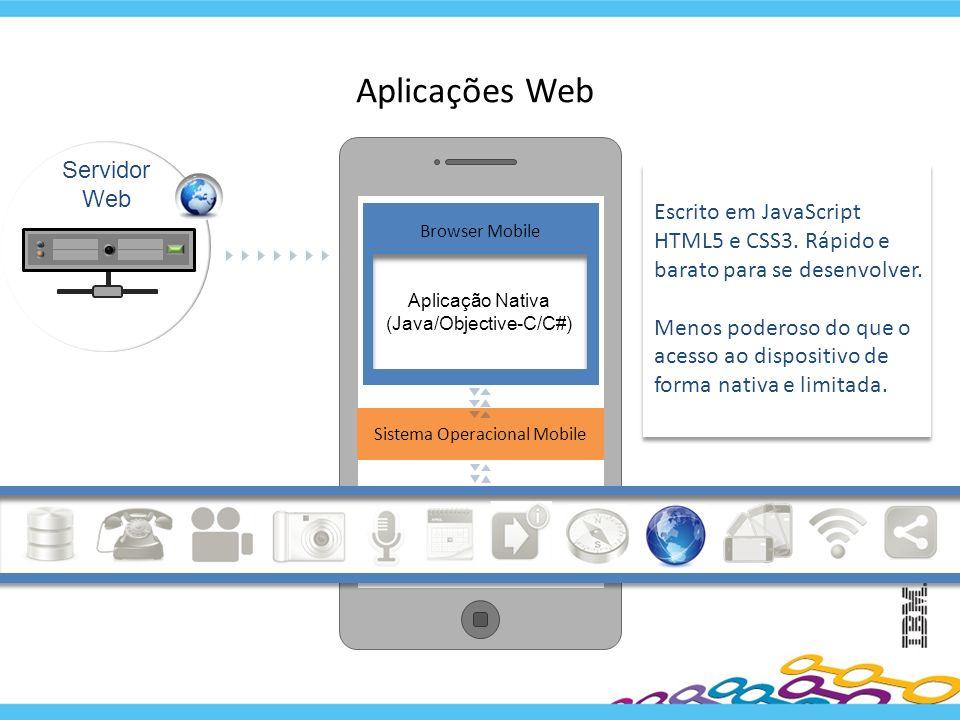 Aplicações Web Servidor Web