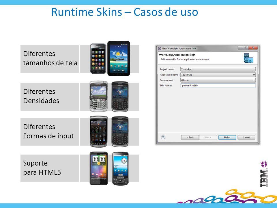 Runtime Skins – Casos de uso
