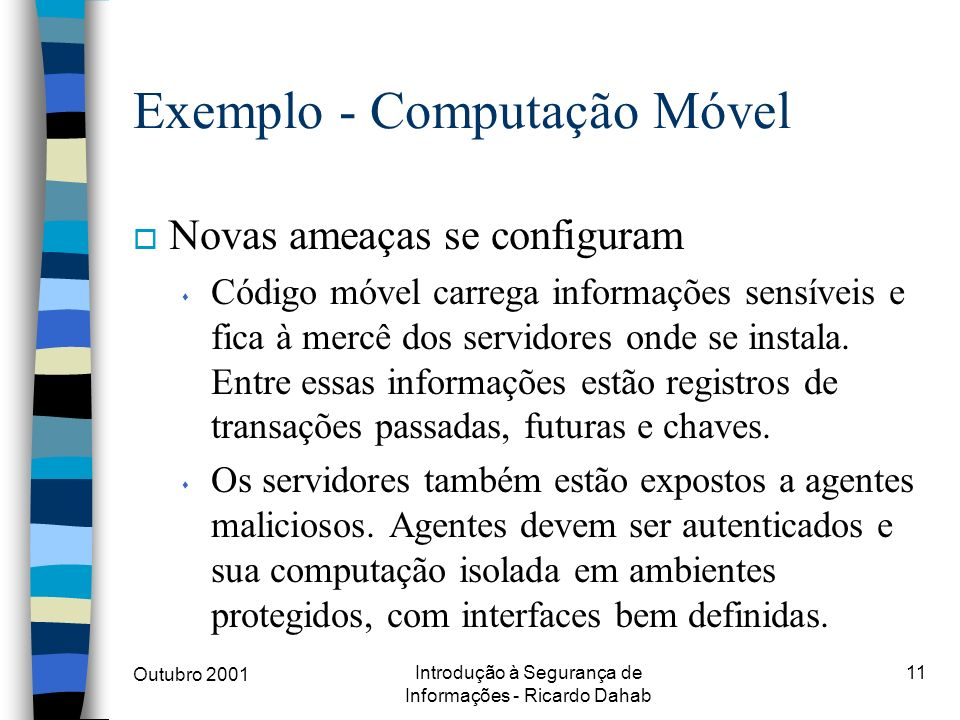 Exemplo - Computação Móvel