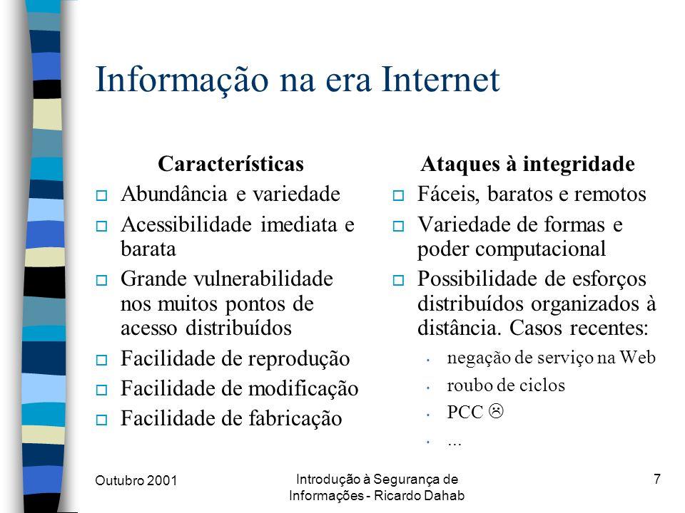 Informação na era Internet