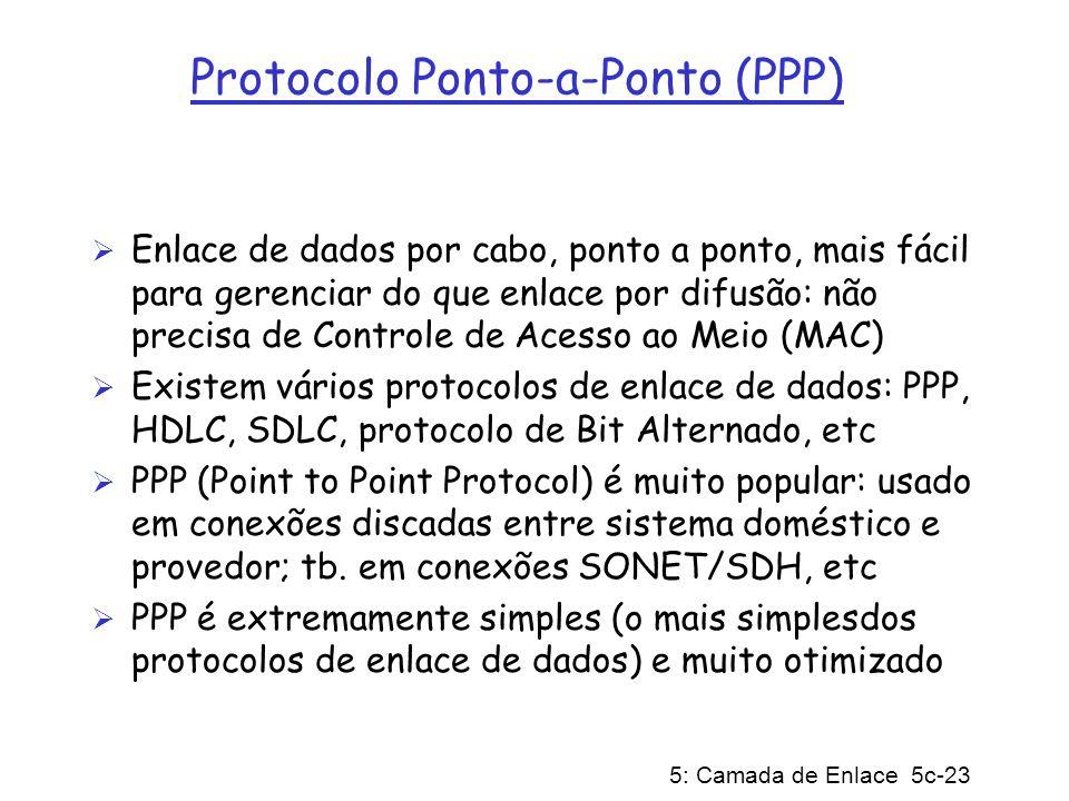 Protocolo Ponto-a-Ponto (PPP)