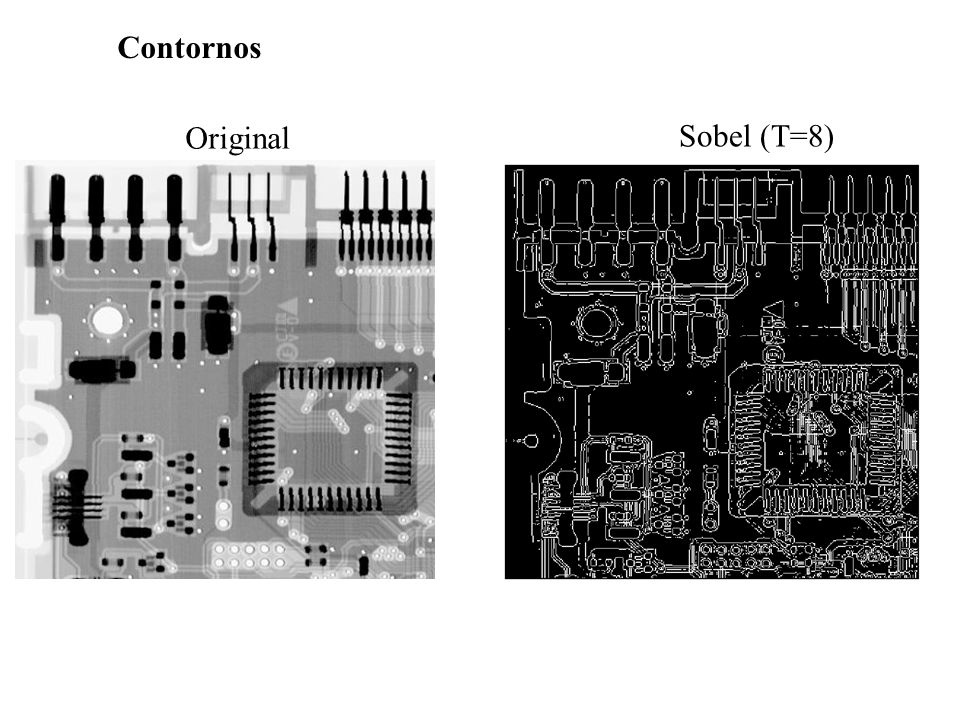Contornos Original Sobel (T=8)