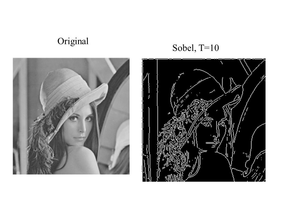 Original Sobel, T=10