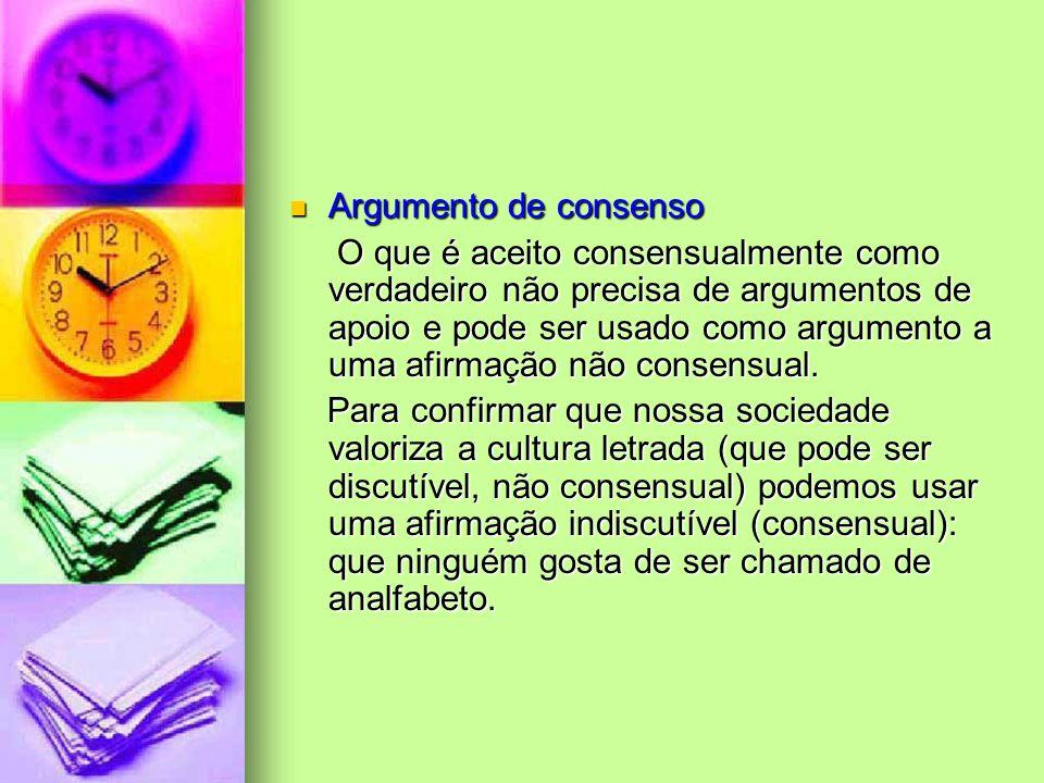 Argumento de consenso