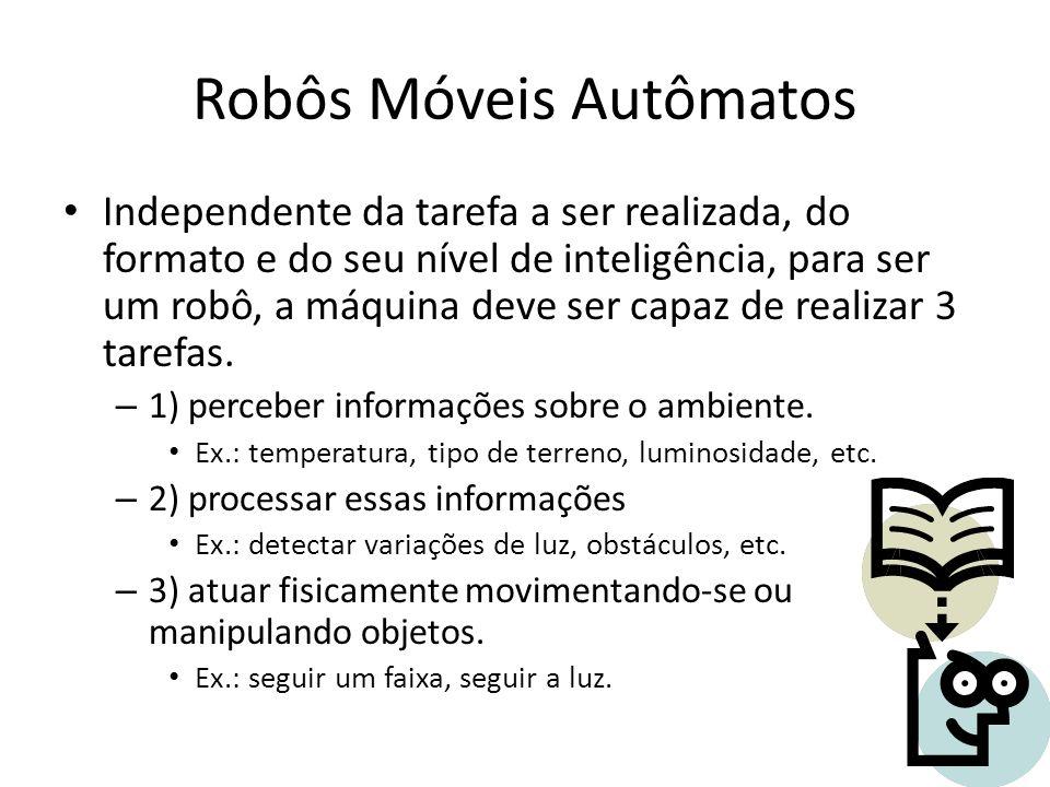 Robôs Móveis Autômatos