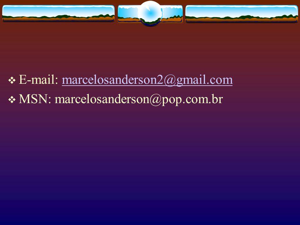 E-mail: marcelosanderson2@gmail.com