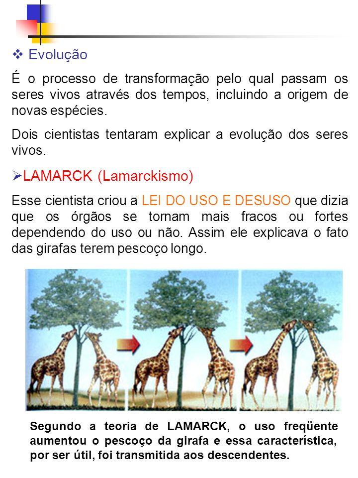 LAMARCK (Lamarckismo)