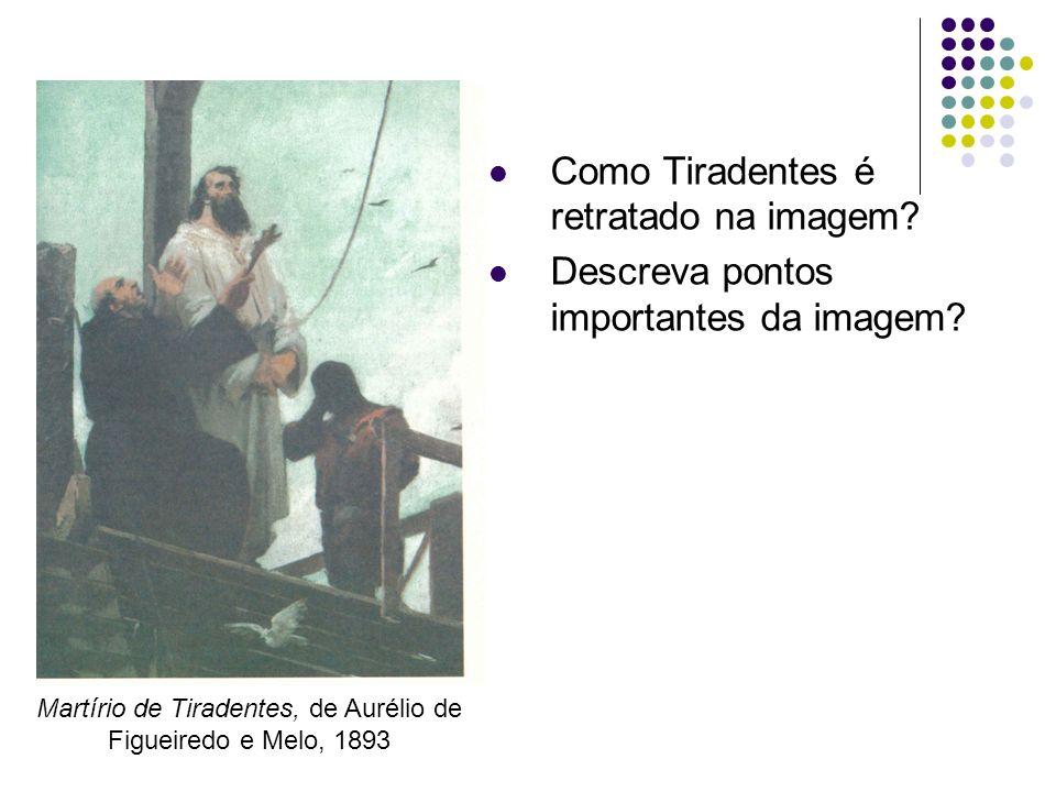Martírio de Tiradentes, de Aurélio de Figueiredo e Melo, 1893
