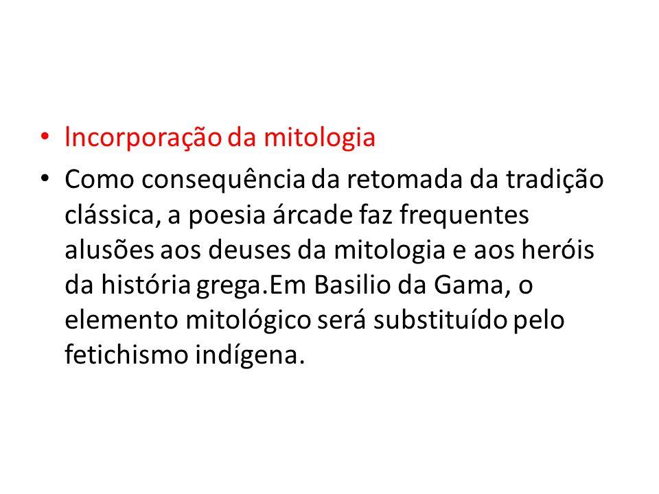 lncorporação da mitologia