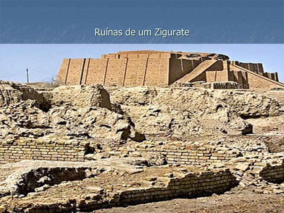Ruínas de um Zigurate