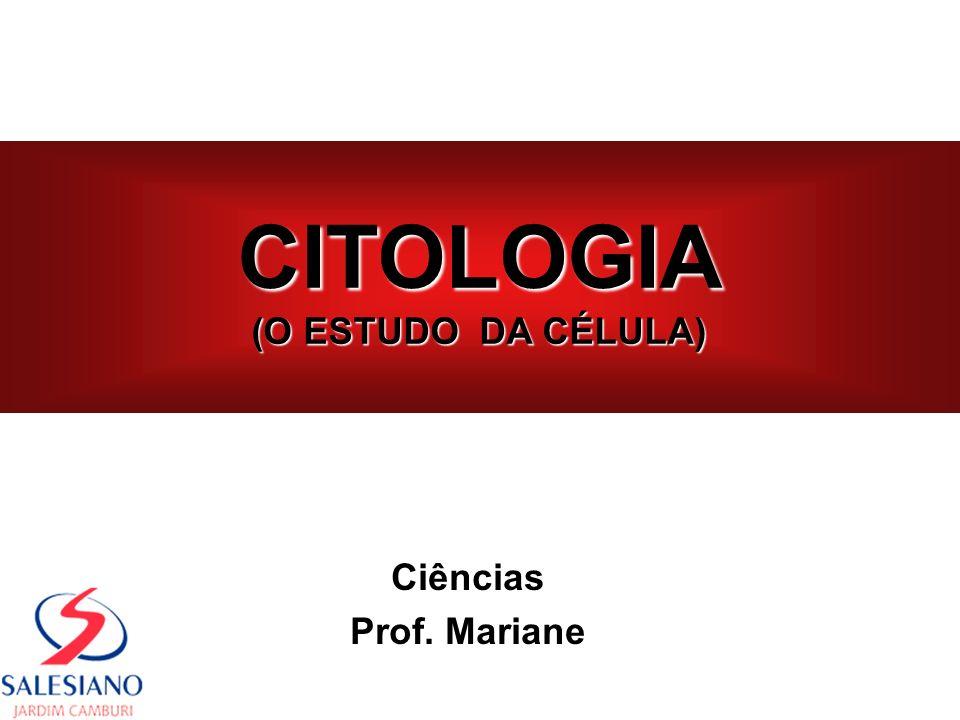 CITOLOGIA (O ESTUDO DA CÉLULA) Ciências Prof. Mariane