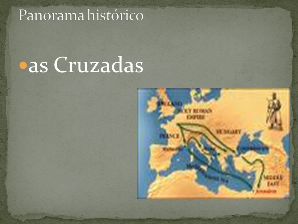 Panorama histórico as Cruzadas