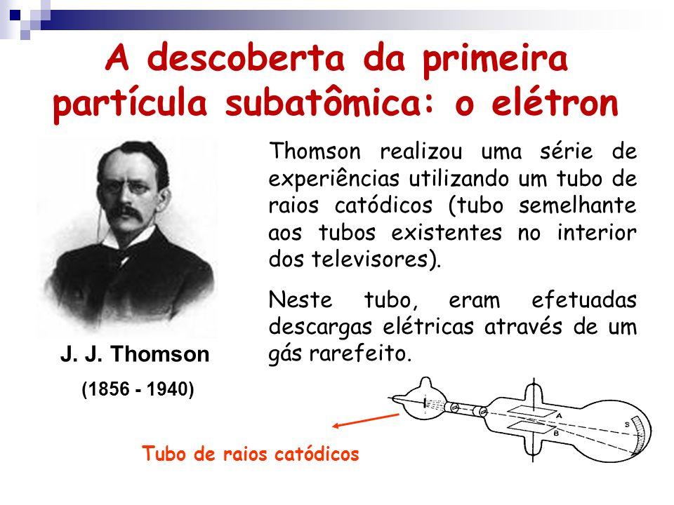 A descoberta da primeira partícula subatômica: o elétron