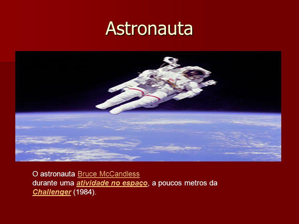 Astronauta O astronauta Bruce McCandless