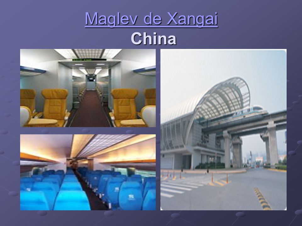 Maglev de Xangai China