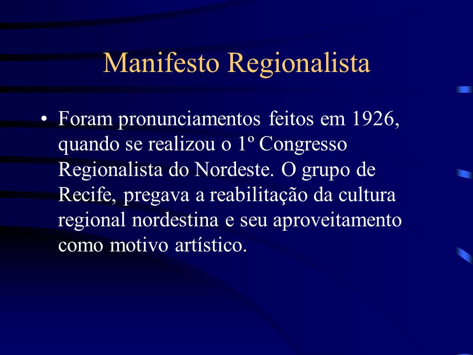 Manifesto Regionalista