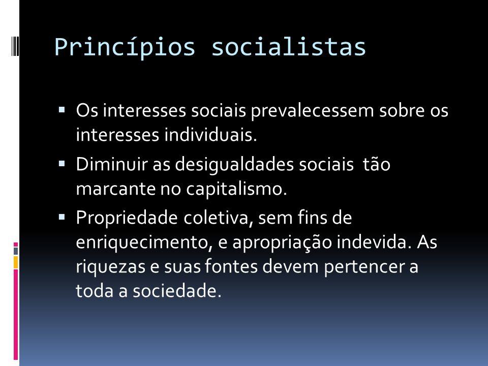 Princípios socialistas