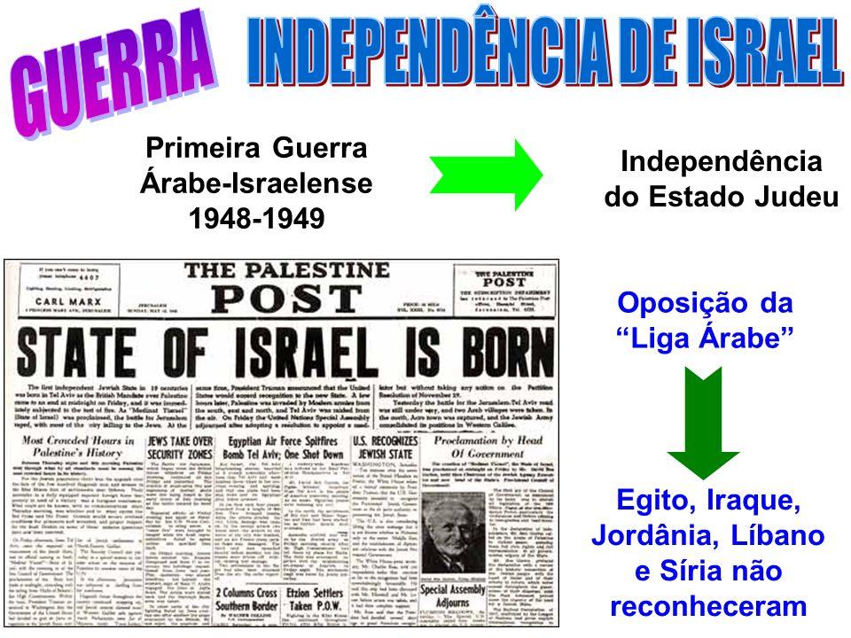 INDEPENDÊNCIA DE ISRAEL GUERRA