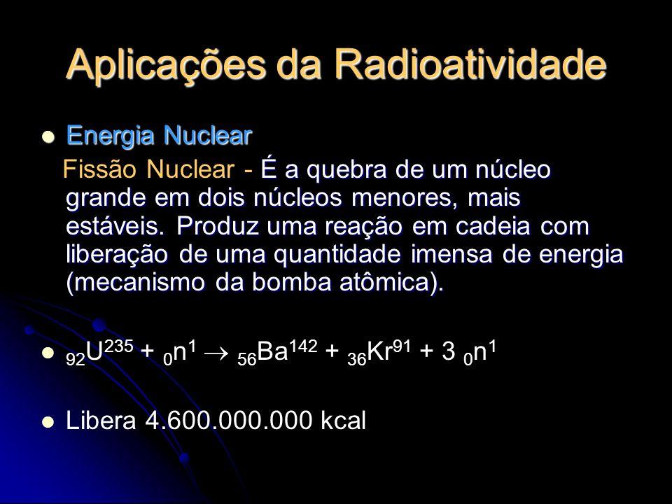 Aplicações da Radioatividade