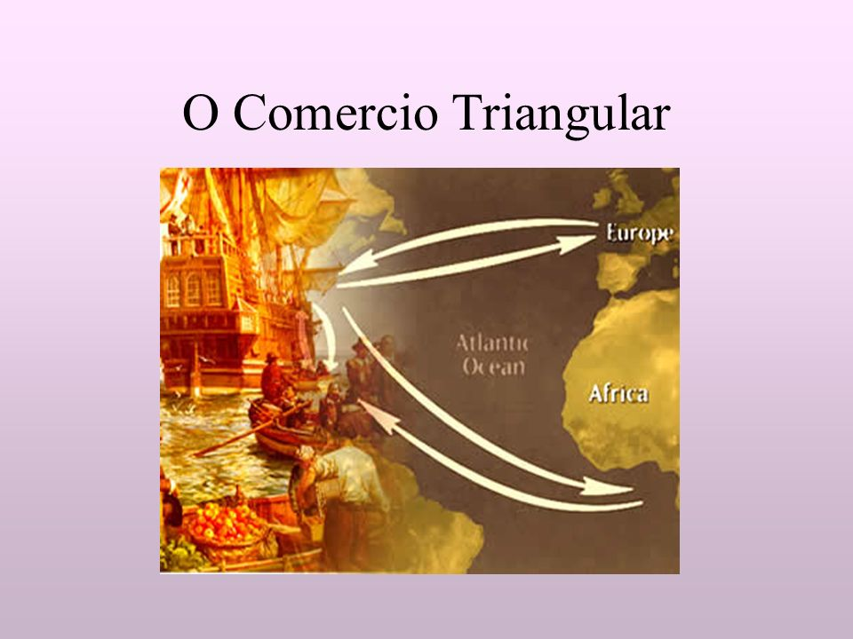 O Comercio Triangular