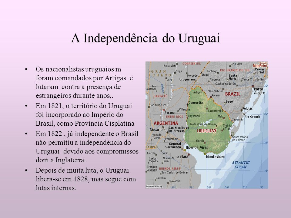 A Independência do Uruguai