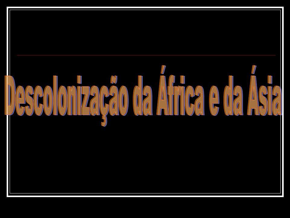 Descolonização da África e da Ásia