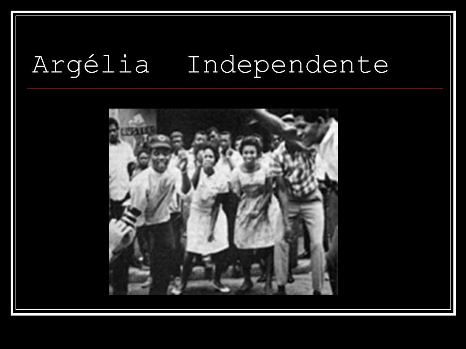 Argélia Independente